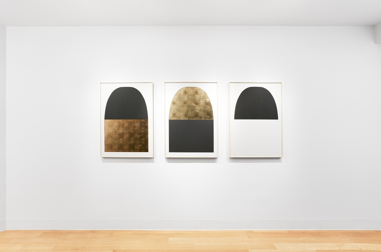 <p>Installation view of Alberto Burri, <i>Grafica</i>, Luxembourg & Dayan, New York. Photo: Tom Powel</p>