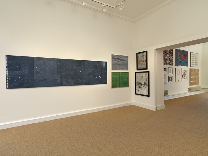 <p>Installation view of <em>Alighiero Boetti: A Private Collection</em></p>