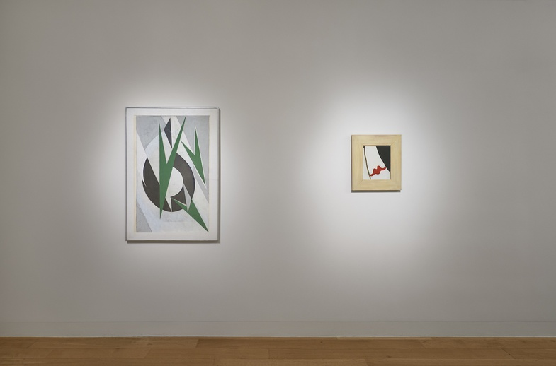 <p>Installation view of&#160;<em>The Ends of Collage.&#160;</em></p><p>Photo: Andy Romer</p>