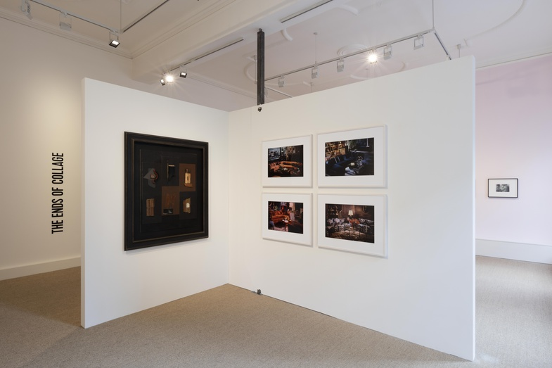 <p>Installation image of the exhibition The Ends of Collage, London.&#160;</p><p>Photo: Will Amlot Photography.</p>